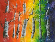 Rainbow Tree – Renamed the Wishing Trees